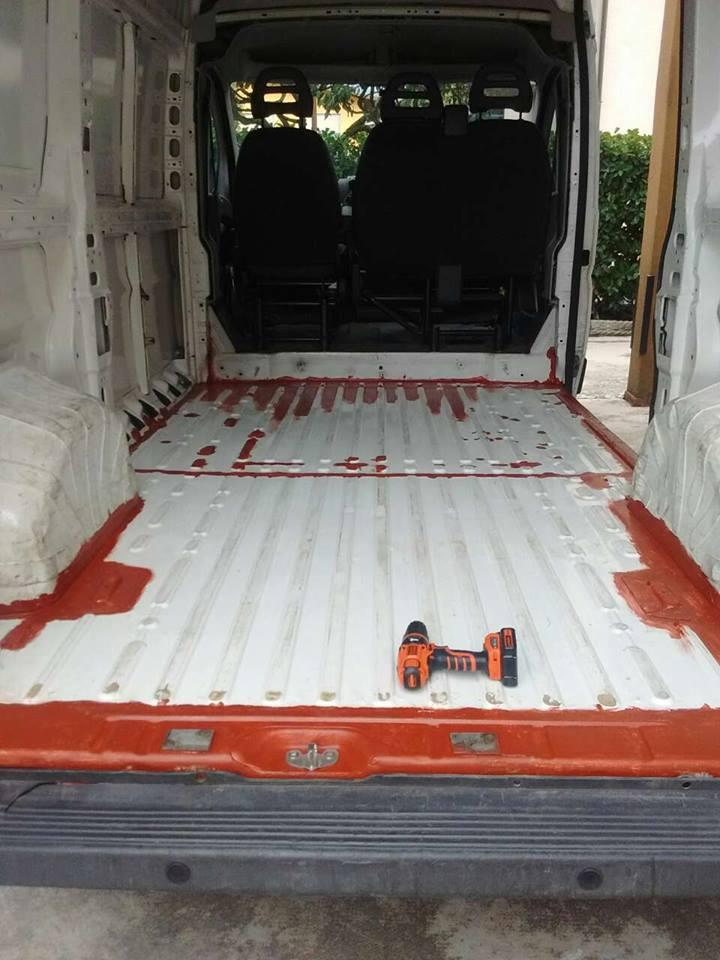 Camperizzare un furgone 2 La preparazione del van