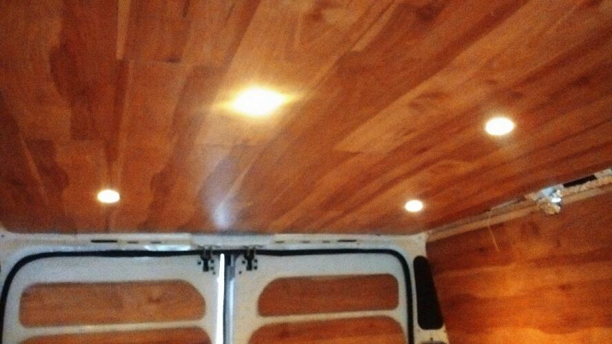 Camperizzare un furgone 4 Il tetto