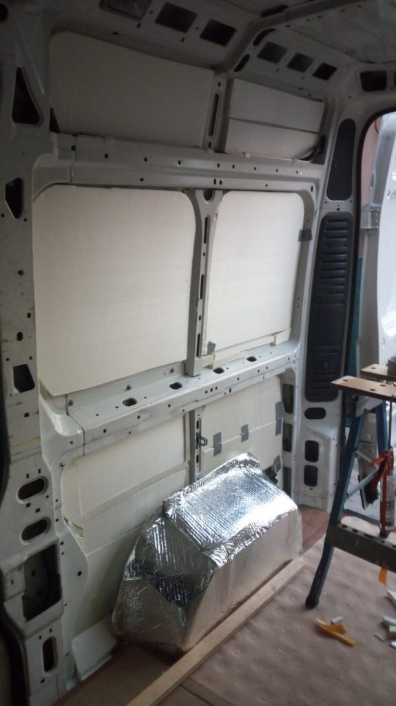 Camperizzare un furgone 3 La coibentazione