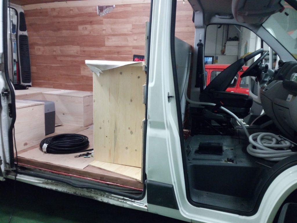Camperizzare un furgone 8 L'impianto elettrico