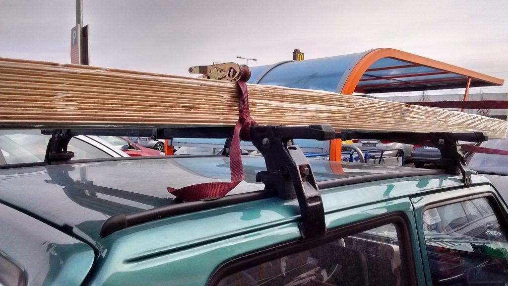 camperizzare furgone rivestimento