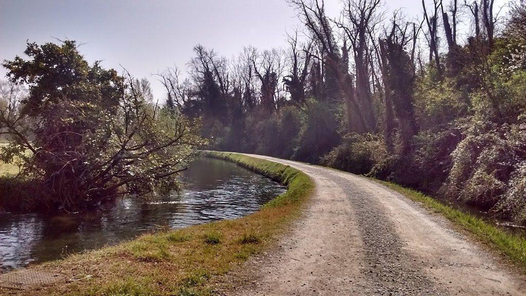 bicicletta fiume oglio